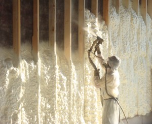 Open cell spray foam