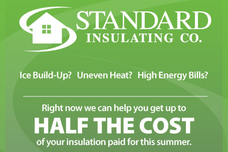 Gut up to half your insulation paid for this fall
