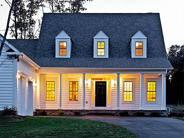 Insulation for your cape cod style home standard for Cape cod style house