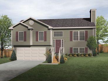 split level home standard insulating
