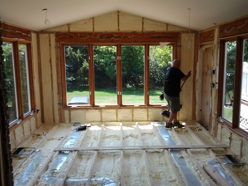 Benefits of insulating your three season room for All season rooms