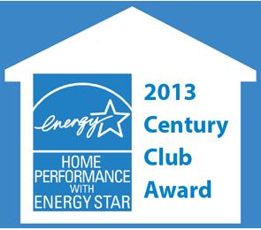 2013 Century Club Award from EnergyStar badge